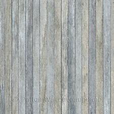 Scrapwood Wallpaper Blue Norwall Wallcovering LL36239