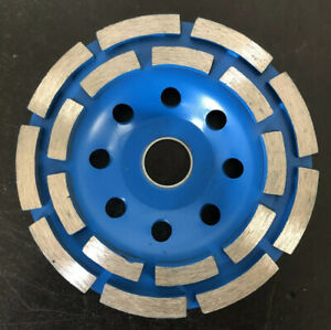 "5"" 125mm Diamond Segment Grinding Wheel Disc Bowl Turbo Grinder Cup 22mm Mar6576"