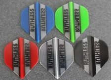 5 Packets of Brand New Ruthless Extra Strong Darts Flights - Mini Sampler
