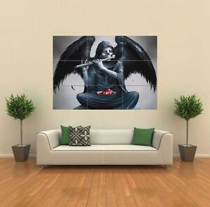 """ANGEL OF DEATH GOTHIC 35 X 49"""" NEW GIANT POSTER WALL ART PRINT PICTURE G065"""