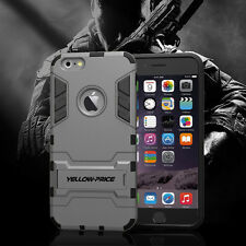 iPhone 6 6S Case, Hybrid Armor[ Heavy Protection Cover/ Military Standard ]