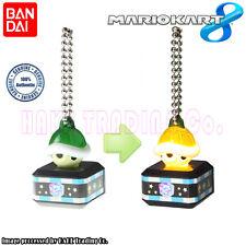 Super Mario Bros. MARIO KART 8 LED Key Chain Figure - Green Koopa Shell Bandai