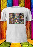 Disney All Princess Cartoon Cute Cool T-shirt Vest Tank Top Men Women Unisex 347