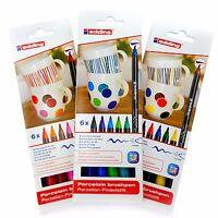 Edding 4200 Porzellan Stift Pinsel Ofen Marker Sets - Drei Farben