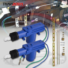 2 Blue Car Auto Universal Heavy Duty Power Slave Door Lock Actuator Motor 2 Wire