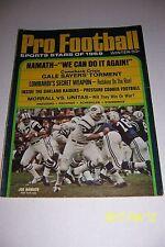 1969 Pro Football NEW YORK Jets JOE NAMATH We Can do It Again SUPER BOWL III
