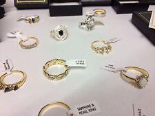 job lot wholesale - 10 rings RRP £150+ giani jewellery RANDOM MIX lot