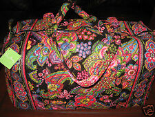 NWT Vera Bradley SYMPHONY IN HUE Large Duffel Travel Carryon RARE HARD TO FIND