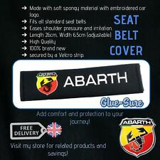 Abarth Car Seat Belt Safety Shoulder Strap Cover Cushion Pad Soft Cotton