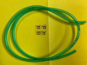 AERMACCHI HARLEY NEW OIL HOSE & CLAMPS for 1974 - 1978 SX175 SS175 SX250 SS250