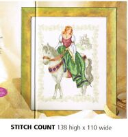 FAIRYTALE PRINCESS  -  CROSS STITCH PATTERN ONLY   ALS - A