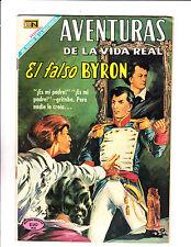 "Aventuras De La Vida Real No 164 -1969 -Spanish -  ""The False Byron Cover! """