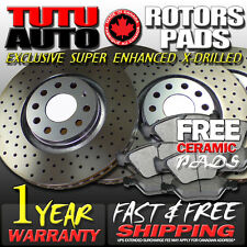 S0815 FIT 2007 2008 2009 2010 2011 2012 2013 Toyota Tundra Brake Rotors Pads F+R