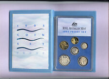"1993 Royal Australian Mint Proof Set: ""Landcare."""
