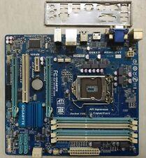 Gigabyte GA-H77M-D3H Ver1.0 H77 LGA1155 DDR3 + IO shield. HTC-VIVE VR Ready