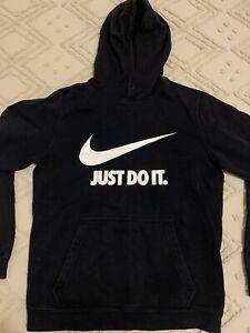 Nike Black Hoody Oversized - Women's Size Small