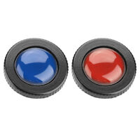 2 Color ROUND-PL Mini Quick Release Plate for Manfrotto Compact Action Tripods