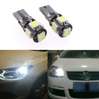 LED Side Light Xenon White Light Bulb Canbus Error Free Fits Polo 09-14 6R 501