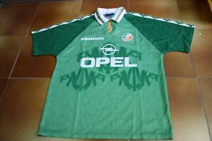 UMBRO IRELAND EIRE 1994-1996 94-96 FOOTBALL SHIRT MAGLIA TRIKOT GREEN L SIZE