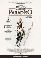 NUOVO CINEMA PARADISO MANIFESTO GIUSEPPE TORNATORE PHILIPPE NOIRET PERRIN