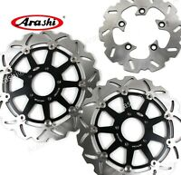 Fit Suzuki GSXR1000 GSX-R 1000 2001 2002 GSXR600 97-03 Front Rear Brake Rotors
