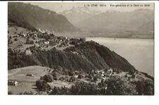 CPA-Carte postale-Suisse-Glion- Vue générale et Dent du Midi  VMO14578
