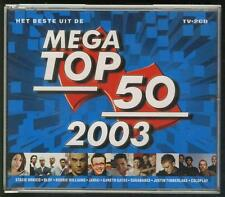 MEGA TOP 100 2003 2-CD BOX Tiesto Within Temptation Coldplay Nena-Kim Wilde Dido