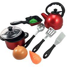 10tlg Accessoires de cuisine jeu Chaudron d'eau jeu cuisine pour les enfants Pot