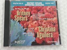 Pocket Songs Karaoke Disc PSCDG1457 Britney Spears Christina Aguilera CDG CD+G
