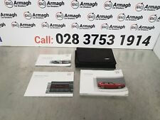 AUDI A3 8PA 08-13 SPORT-BACK HANDBOOK OWNERS MANUAL WALLET