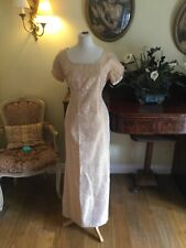GREAT  VINTAGE 40s/50s BRIDESMAID WEDDING DRESS By CECELIA BERNETTE SIZE 14