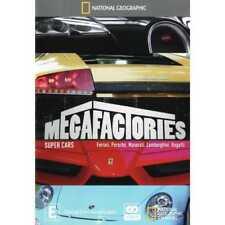 National Geographic-Megafactories :Super Cars (DVD,2011,2-Disc Set)-free postage