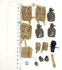 X112-02 1/6 Scale HOT Toys City 9015 Pararescue PJ Bottle & Pouch Set & Grenade