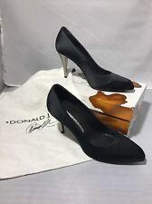 Donald J Pliner Size 7M Womens Black Heels
