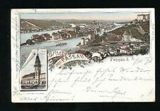 Litho-Karte Gruss aus Passau, 1896   (R15)