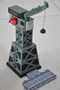 THOMAS and Friends Take Along & N Play SODOR Cranky Crane - Excellent condition