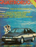 QUATTRORUOTE N.390 1988 PORCHE 911 MASERATI 430 CITROEN BX