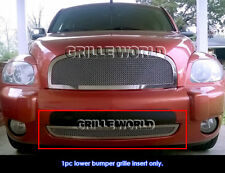 For 2006-2011 Chevy HHR Bumper Stainless Steel Mesh Grille Grill Insert