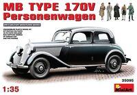 1/35 MB TYPE 170V  Personenwagen MINIART 35095 Models kits