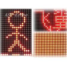 LED Lattice Module 16x24 Dot Matrix Subtitle Text Display HT1632C 3.3V-5V