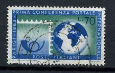 ITALIA 1963 SG # 1096 Parigi CONFERENZA POSTALE utilizzato #A 40248