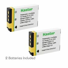 2x Kastar Battery for Kodak KLIC-7003 GE E1040 E1050TW E1240 E1250TW E850 H855