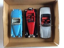 NEW - RAY Gift Set Of 3 X Jaguar XK120 Roadster Jaguar SS -100 & Jaguar XJS V12