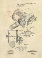 Official Flounder Fish US Patent Art Print Vintage Antique Fishing Prints 209