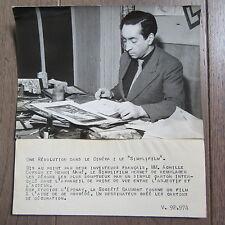PHOTO DE PRESSE 1942 CINEMA SIMPLIFILM DESSINATEUR CARTONS