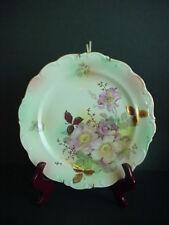 Schumann Arzberg Germany Porcelain Plate Wild Rose Flowers