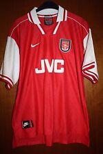 Maglia Shirt Maglietta Trikot Arsenal JVC Gunners Nike 96 97 98 Double