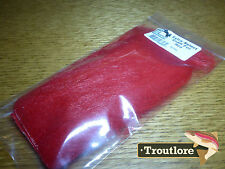 RED EXTRA SELECT CRAFT FUR HARELINE DUBBIN - NEW FLY TYING MATERIALS