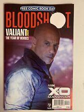 Triple Xxx Diesel Bloodshot Fcbd 2020 Free Comic Book Day No Stamps No Sticker