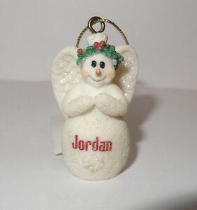 Ganz Christmas Ornament Snowangel Snowman Angel Pick Choose Name New Glitter JB